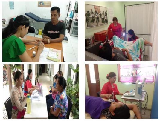 Mobile Clinic at ALC and Medical Check-Up