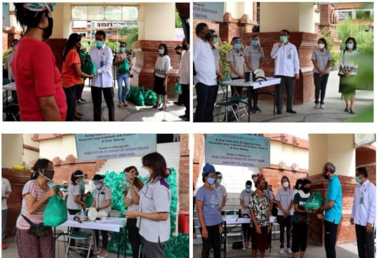 YRS DISTRIBUTES FOOD PACKAGES TO 120 LABORERS