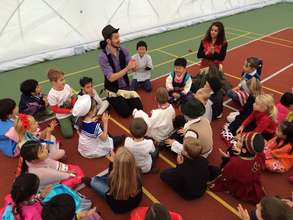 Dance and rhythm workshop with Zuzka