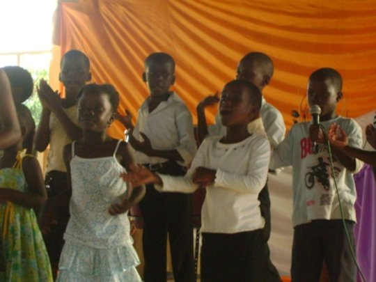 Be the voice to the girl child in Uganda.