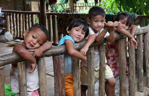 Orphans along the Thai/Myanmar border.