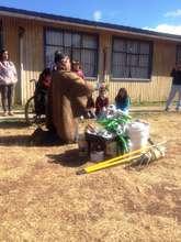Rural school in Araucania - Southern Chile