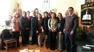 Working meeting with school principals inAraucania