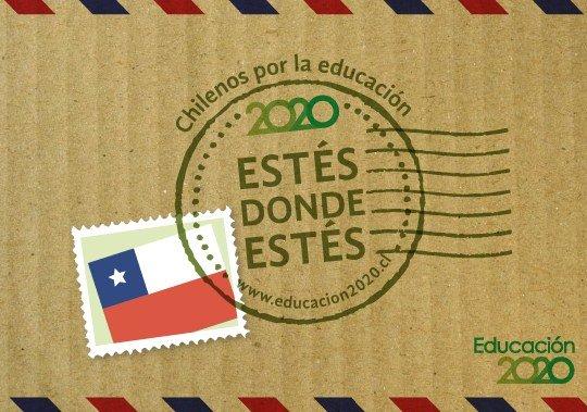 Estes donde estes. Chilenos por la educacion.