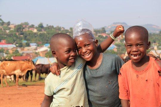 Send an unprivileged child to school in Uganda