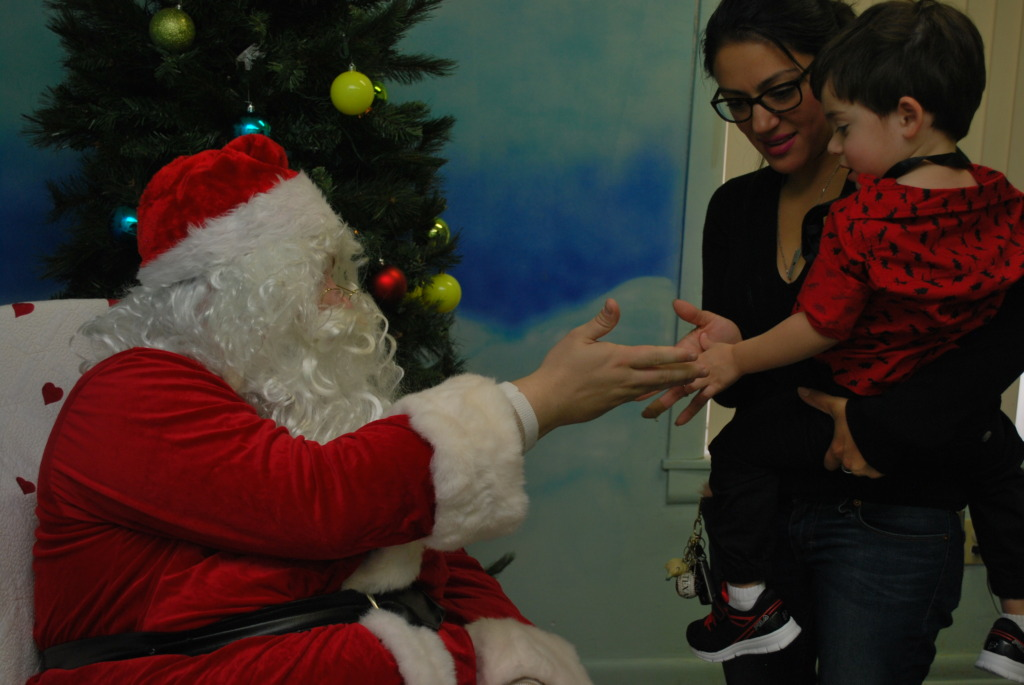 Autism friendly Santa visits make a difference!
