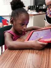 'The iPad keeps my daughter engaged and learning.'
