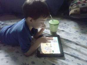 Give kids a voice: iPads for Autism