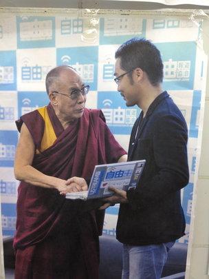 The Dalai Llama press conference, 2011