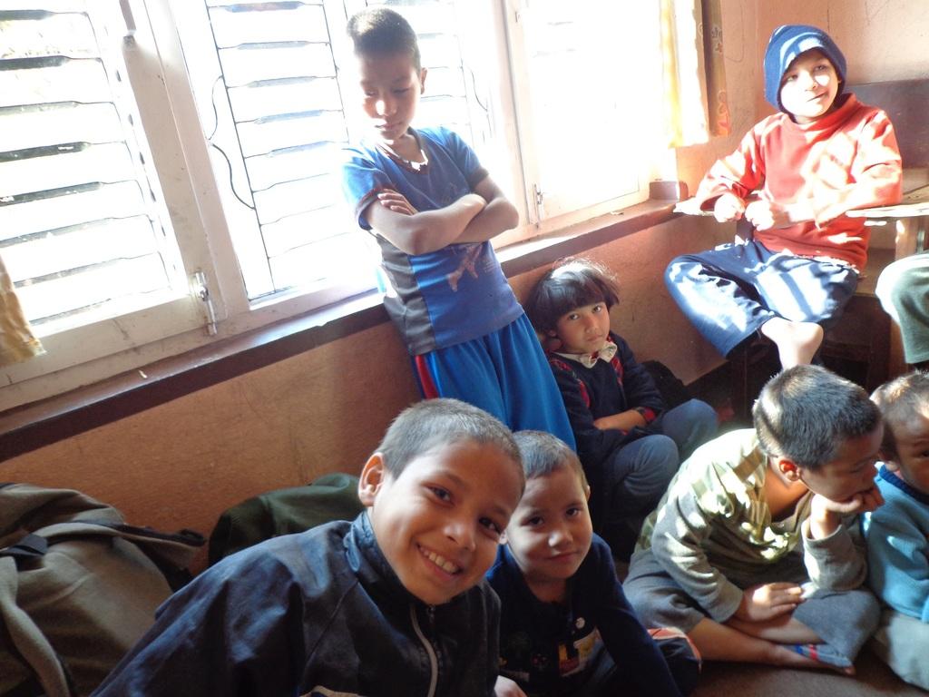 Children at Sarita Children Home