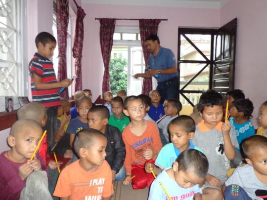 Pencil Distribution for kids