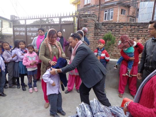 School Dress Distribution  Program