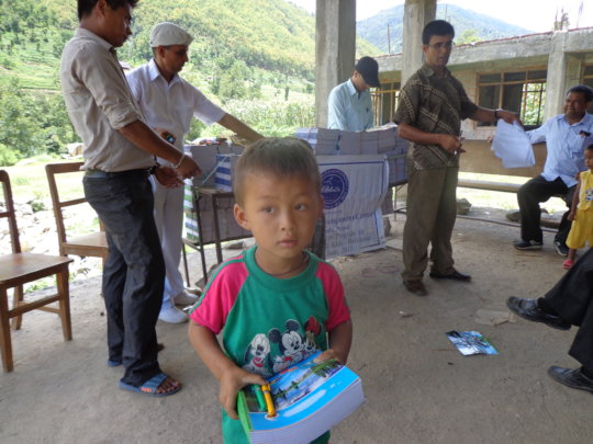 Help 17 Nepali orphans feed and go to school.