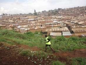 Running in Kibera