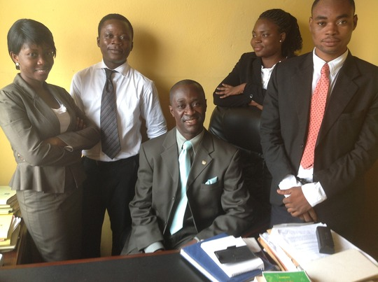 Interns and Founder of HelpLaw Ghana