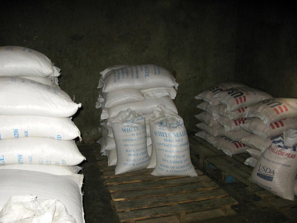 Food Storage: Maize, Peas, and Salt