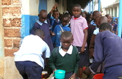 Feed Lunch to 1000 Students in the Slums of Kenya
