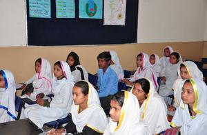 Sumaira's Classroom in Enoo Bhatti