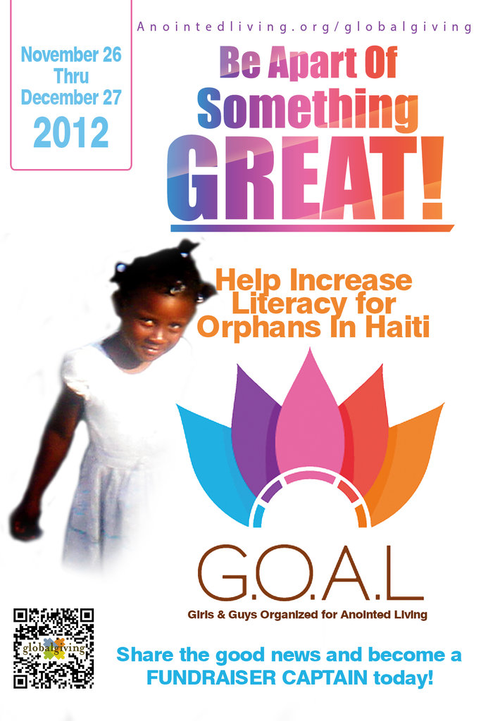 Position Orphans In Haiti To Be Radiant Readers Globalgiving