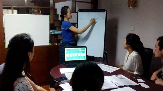 We women foundation office in Burma