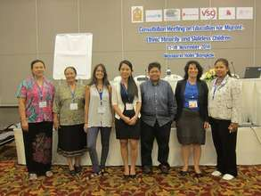 We women at a conference in BKK