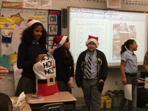 PFF Kids Delivering Holiday Cheer
