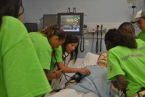 PFF Nursing Lab at Villanova University