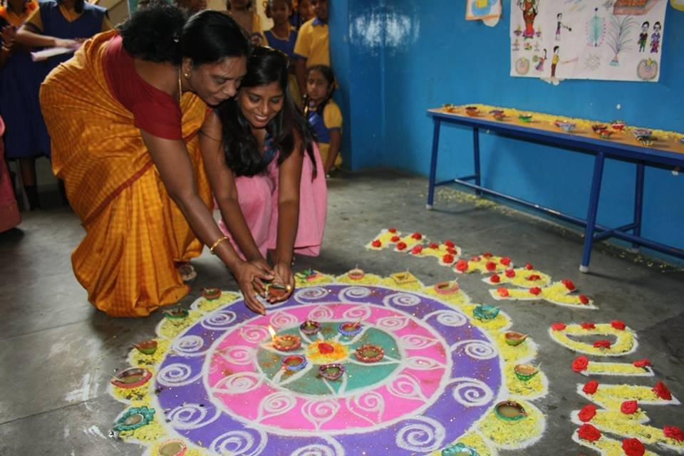 """""""Celebrating a safe Diwali"""""""
