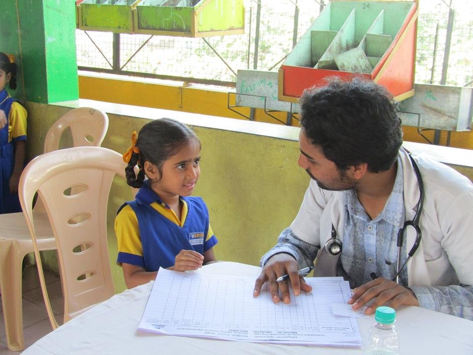 Health Checkup Camp by Ambedkar College