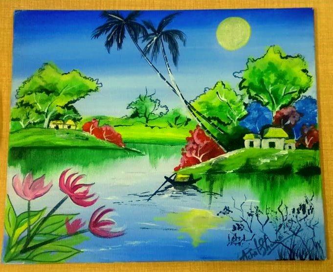 An art by Achal