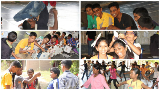 'Turning Point' - Leadership Camp Activities