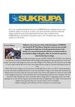 Activities at SUKRUPA (PDF)