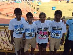 SUKRUPA boys run 10K for Girl Child Campaign