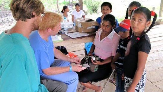 Our patients in Bahia Azul