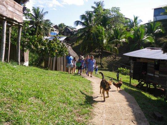 Floating Doctors team on Isla Cristobal