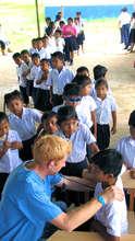 Doing health checks in a rural community school