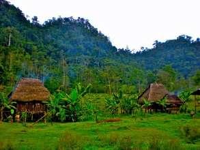 Typical Ngabe Indigenous Community