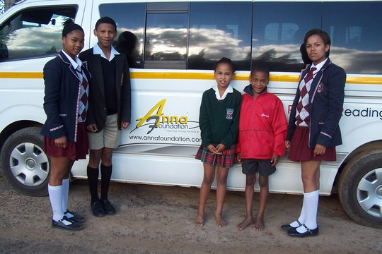 Anna Foundation school bus