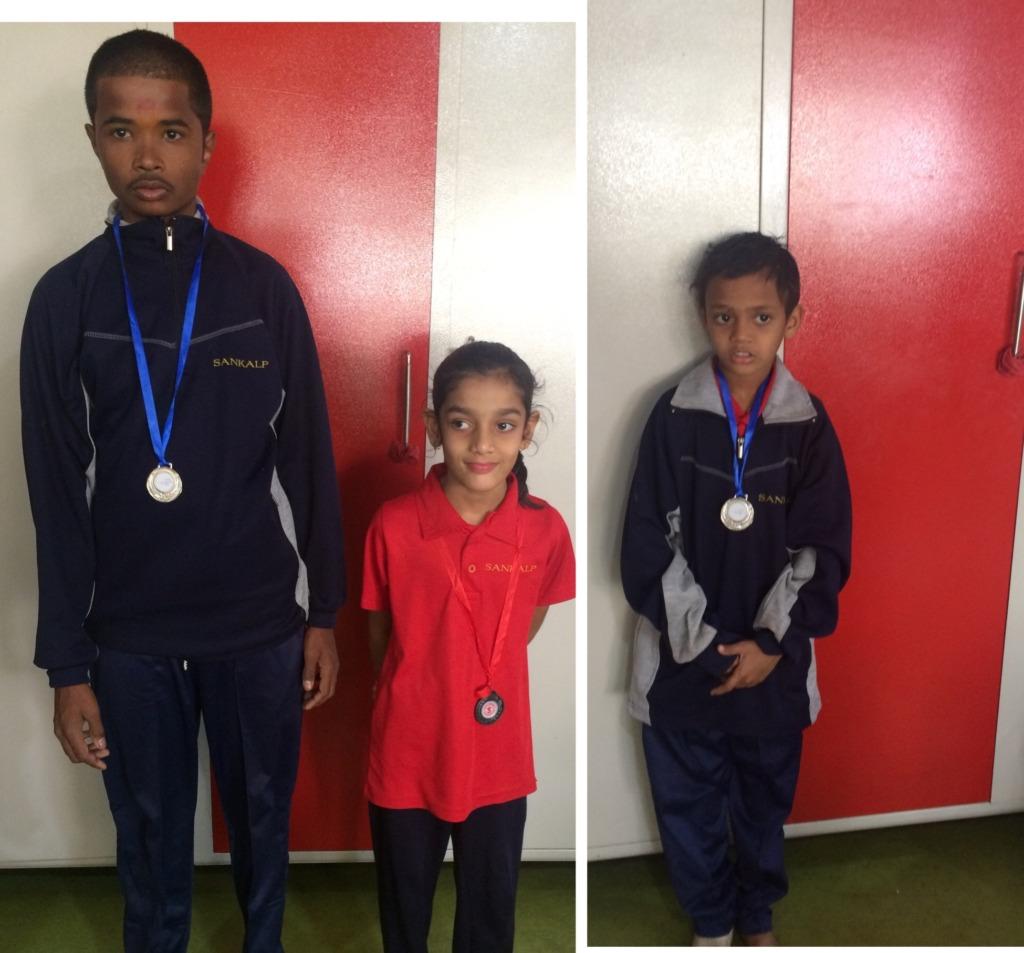 Children with Medals