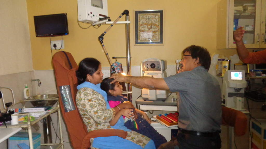 Ophthalmic checkup