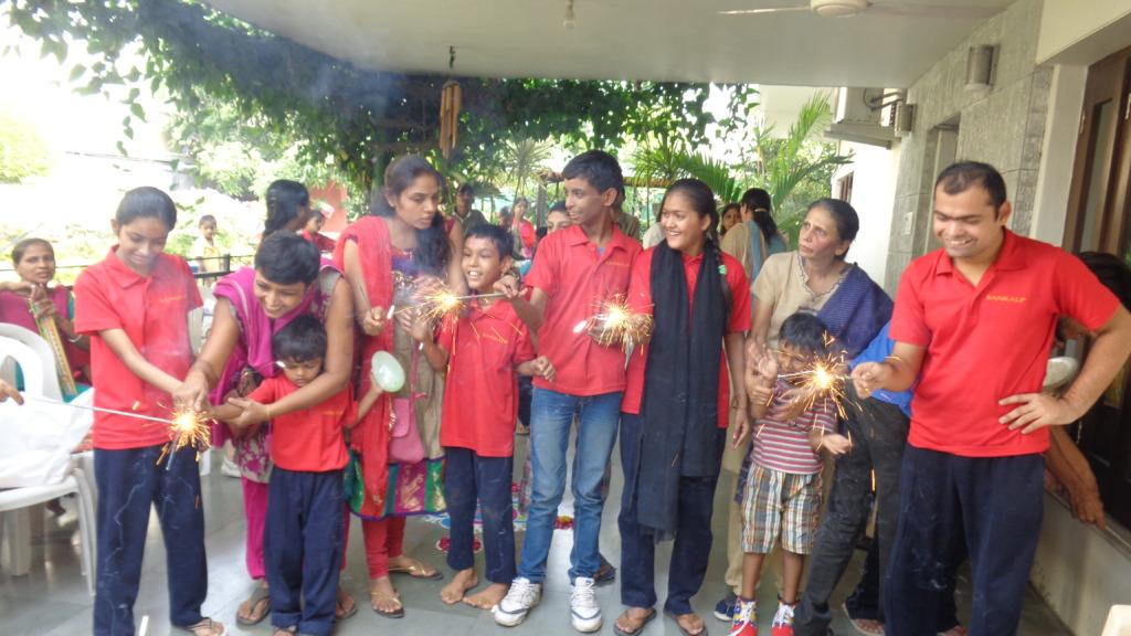 Firecrackers at Diwali