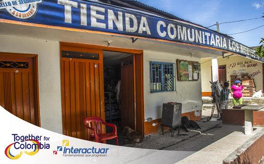 The Tiendas de Paz Community Shop