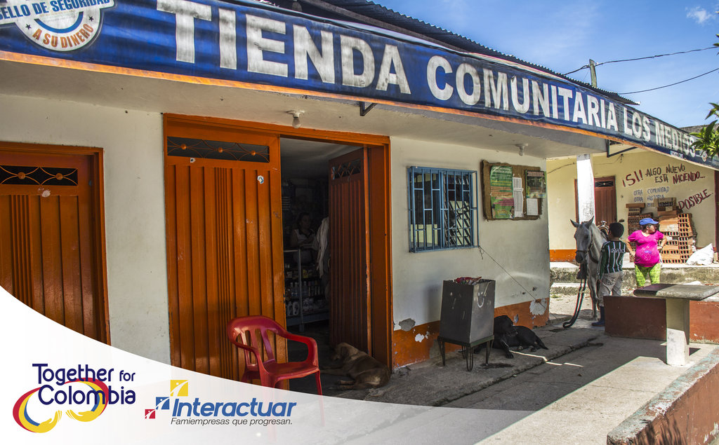 The Tiendas de Paz Community Shop