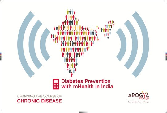 mDiabetes in India