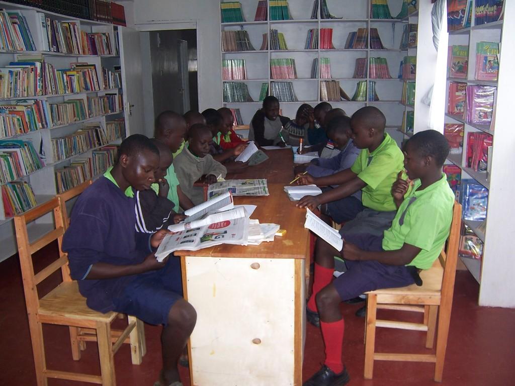 Children preparing for national primary exam