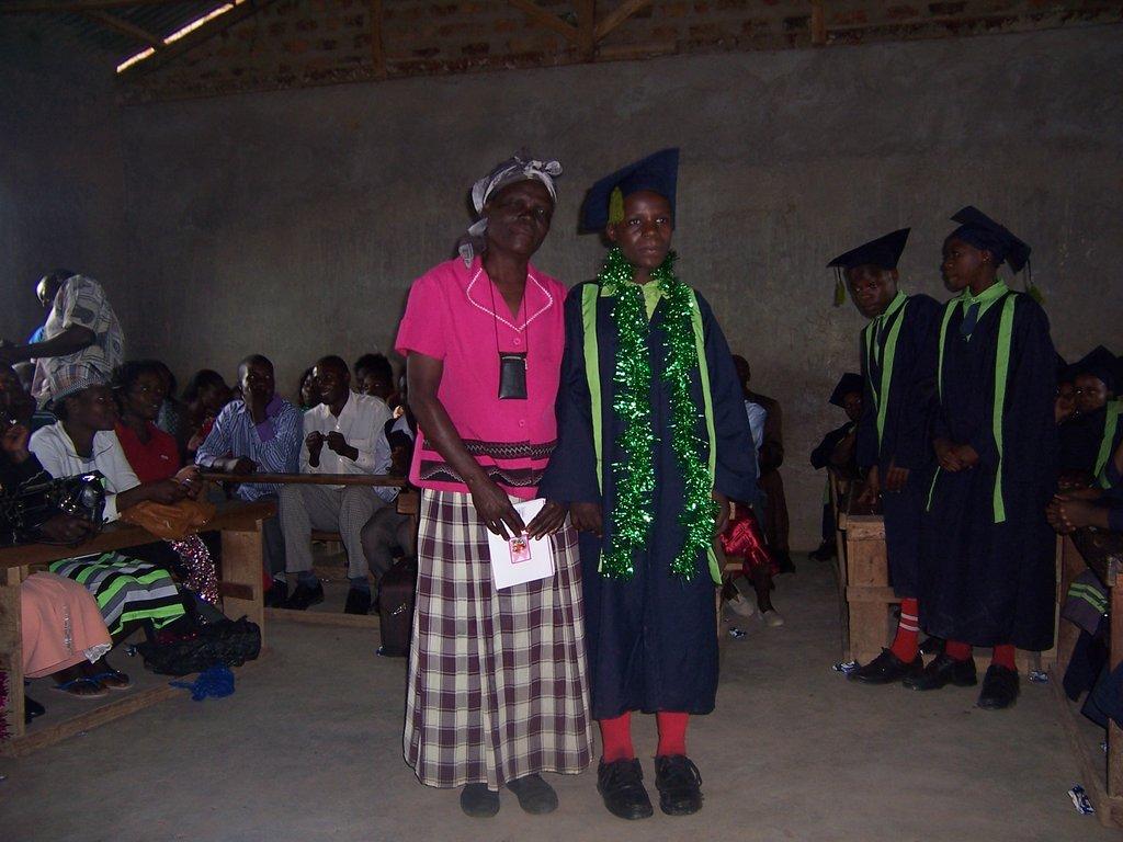 Graduation with Grandmother