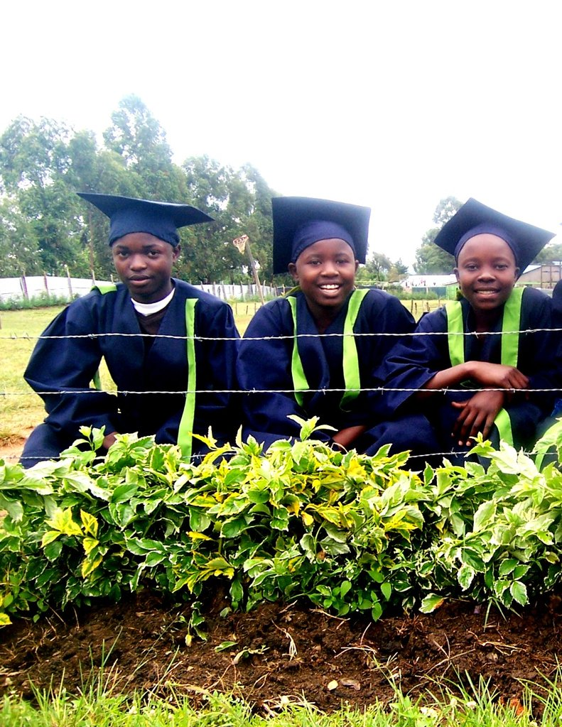 Our three best pupils in Eng, Kiswahili and Math