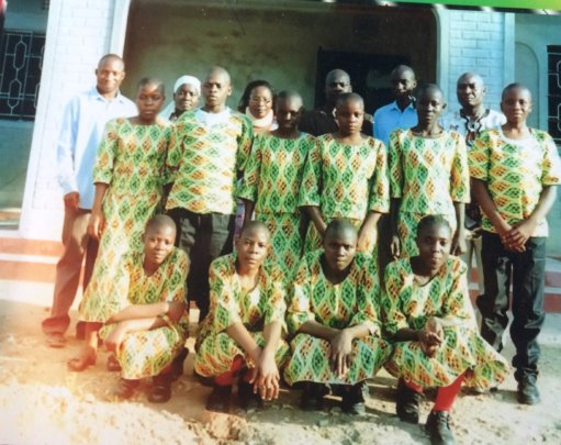 students from orphanage who graduated high school