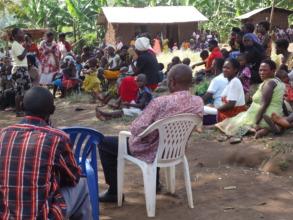 Community Dialogue meeting