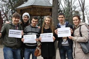 Young leaders campaign against violence